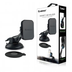 EH04PBK:Esoulk Magnetic Car Phone Holder Dashboard Windshield Mount With Dashboard Pad
