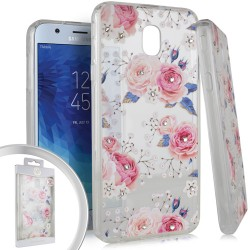 Flower Spot Diamond for Samsung J7 2018
