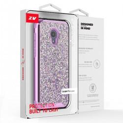ZV Dual Layered Full Diamond Case for Alcatel 1X Evolve