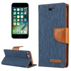 CANVAS DIARY FOR IPHONE 11 (NAVY/CAMEL)