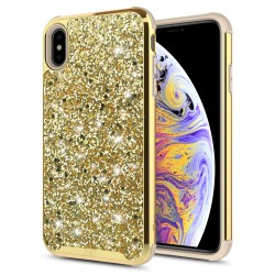 ZV Dual Layered Full Diamond Case for iPhone X/XS
