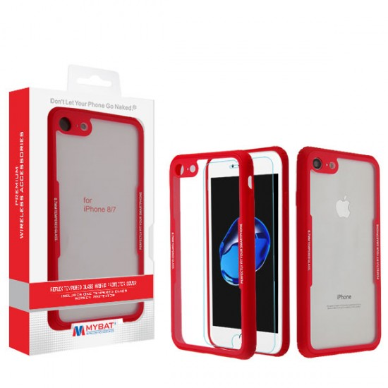 Reflex Hybrid Protector Cover with Tempered Glass Screen Protector (with Package)