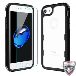TUFF Lucid Plus Hybrid Protector Cover (Tempered Glass Screen Protector)[Military-Grade Certified](with Package)