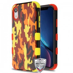 MYBATTUFF Hybrid Phone Protector Cover [Military-Grade Certified](with Package)