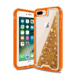 Liquid Quicksand Glitter 3 Piece Combo Hybrid Case for iPhone 6+/7+/8+