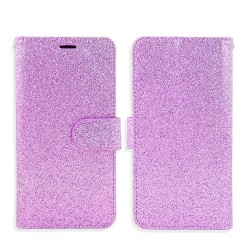Premium Glitter Wallet for LG Q7 PLUS