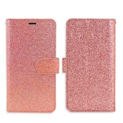 Premium Glitter Wallet for Samsung J7 2018