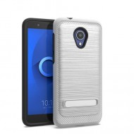 BRUSHED METALLIC W/ EDGE AND KICK FOR ALCATEL 1X EVOLVE