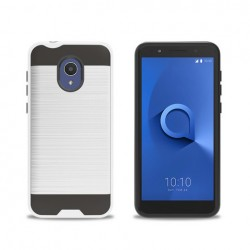 Texture Brushed Metal for Alcatel 1X Evolve