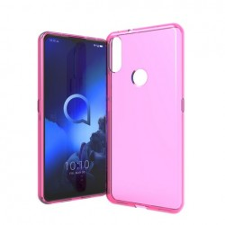 TPU case, Hot Pink For Alcatel 3V