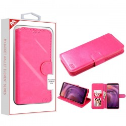 Hot Pink MyJacket Wallet Element Series(563) -WP For Alcatel 3V