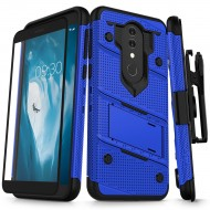 ziZo Bolt with Kickstand, Holster, Temperd Glass, Lanyard for Alcatel ONYX