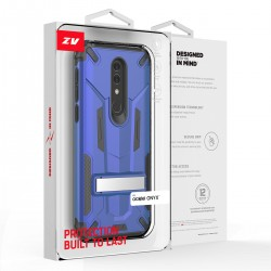 ZV Hybrid Transformer with Kickstand and UV Coated for Alcatel ONYX