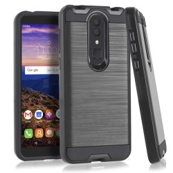 Texture Brushed Metal for Alcatel ONYX_BLACK