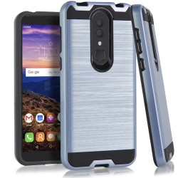 Texture Brushed Metal for Alcatel ONYX_NAVY BLUE