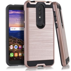 Texture Brushed Metal for Alcatel ONYX_ROSE GOLD