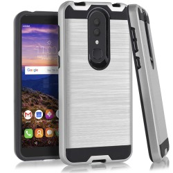 Texture Brushed Metal for Alcatel ONYX_SILVER