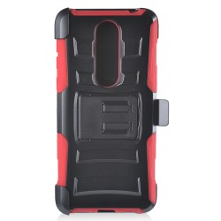 Armor Holster for Alcatel ONYX_RED