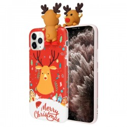 Christmas Deer Candy Skin Cover For Iphone 11 Pro Max
