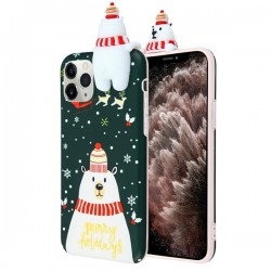 Christmas Bear Candy Skin Cover For Iphone 11 Pro Max
