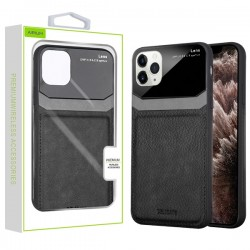 Black Leather Protector Cover (with Package) For Iphone 11 Pro Max