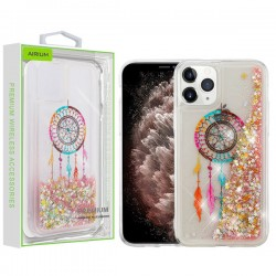 Dreamcatcher & Gold Stars Quicksand Glitter Hybrid Protector Cover (with Package) For Iphone 11 Pro Max