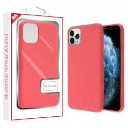 Coral Pink Eco Phone Case (with Package) For Iphone 11 Pro