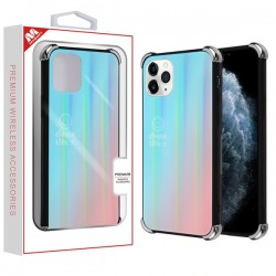 Blue Gradient Tempered Glass Backing Executive Protector Cover (with Package) For Iphone 11 Pro