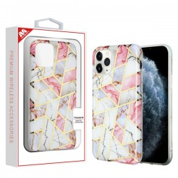 Electroplated Pink Marbling Candy Skin Cover (with Package) For IPhone 11 Pro