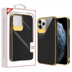Electroplated Gold/Black Candy Skin Cover (with Package) For Iphone 11 Pro