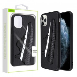 Black 3D Silicone Coconut Shoe Protector Cover (with Package) For IPhone 11 Pro
