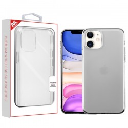 Glossy Transparent Clear Candy Skin Cover (with Package) For Iphone 11
