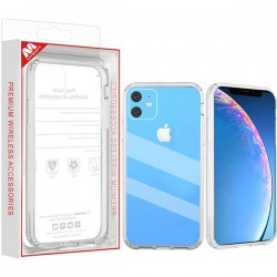 Highly Transparent Clear/Transparent Clear Sturdy Gummy Cover (with Package) For Iphone 11