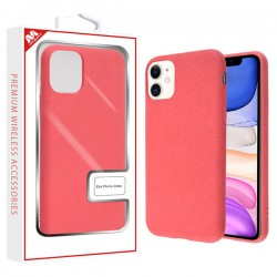 Coral Pink Eco Phone Case (with Package) For Iphone 11