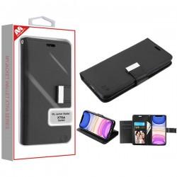 Black/Black MyJacket Wallet Xtra Series (GE031) -WP For Iphone 11