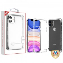 Silver Plating TUFF Klarity Lux Candy Skin Cover (with Package) For Iphone 11