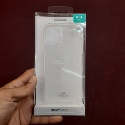 JELLY CASE FOR IPHONE 11 PRO MAX (CLEAR)