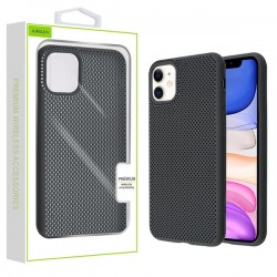 Black Lattice Protector Cover (with Package) For Iphone 11