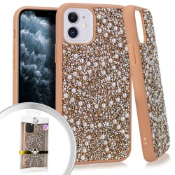 CHROME ONYX Pearl Rose Gold For Iphone 11