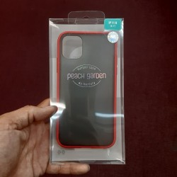 PEACH GARDEN BUMPER FOR IPHONE 11 (RED)