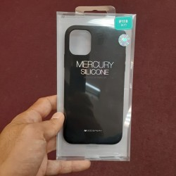 MERCURY SILICONE CASE FOR IPHONE 11 (BLACK)