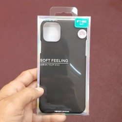 SOFT FEELING FOR IPHONE 11 PRO MAX (BLACK)
