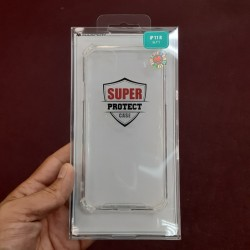 SUPER PROTECT CASE FOR IPHONE 11 (CLEAR)