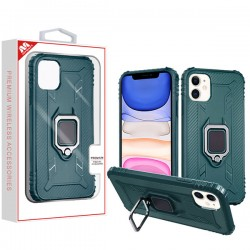Green Thickening Candy Skin Cover (with Ring Stand)(with Package) For IPhone 11
