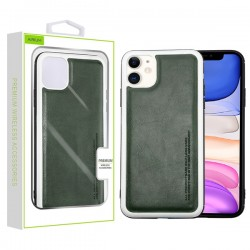Grey Leather Protector Cover (with Package) For Iphone 11