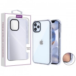 Asmyna Corner Guard Candy Skin Cover for Apple iPhone 12 (6.1) / iPhone 12 Pro (6.1) - Transparent Clear