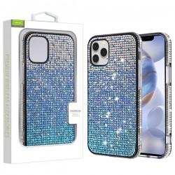 Crystals Sparks Case for APPLE iPhone 12 Max (6.1) - Blue Gradient