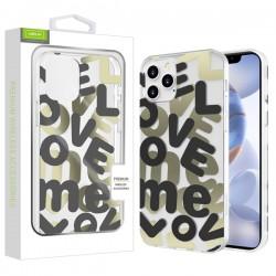 Airium Love Me Fusion Protector Case for Apple iPhone 12 (6.1) / iPhone 12 Pro (6.1) - Black