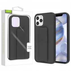 Airium Hybrid Case (with Foldable Stand) for APPLE iPhone 12 Max (6.1) - Black
