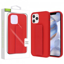 Airium Hybrid Case (with Foldable Stand) for APPLE iPhone 12 Max (6.1) - Red